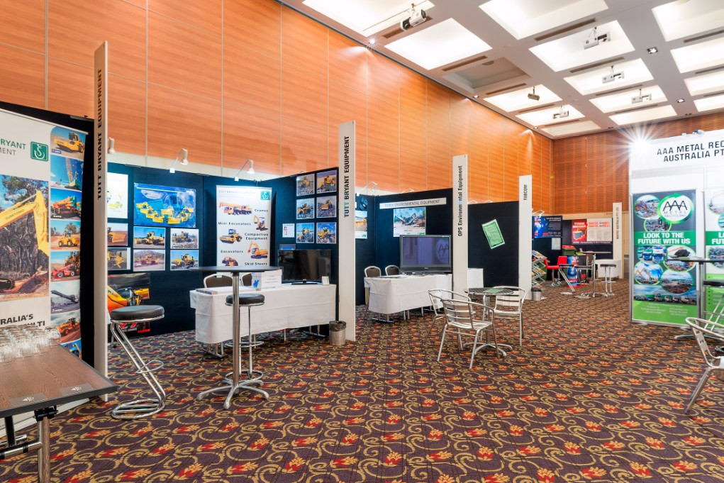 Esplanade Hotel Fremantle Southern Cross Ballroom-Tradeshow Booths Setup Perth