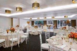 Esplanade Hotel Fremantle by Rydges Indian-ocean-suite-wedding cabaret style setup