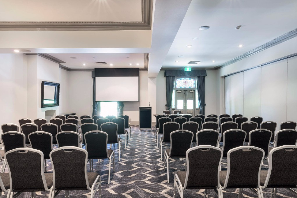 Esplanade Hotel Fremantle by Rydges - Conference & Events Venue - Carnac Function Room - Theatre Style