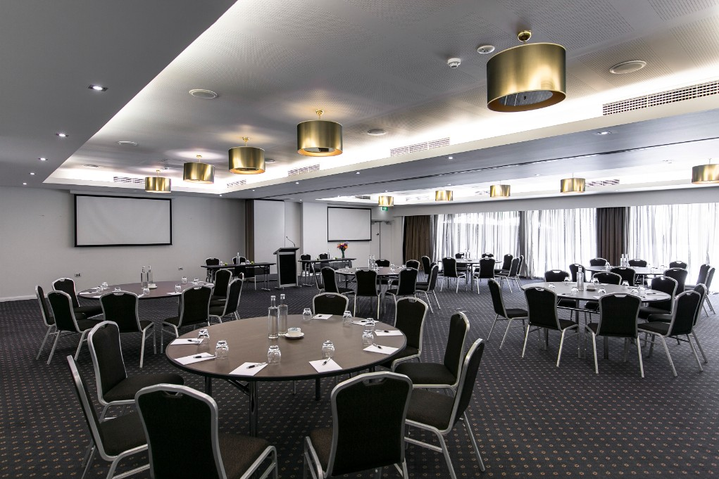 Esplanade Hotel Fremantle by Rydges Perth - Conference Meetings & Events Venue Indian Ocean Suite Function space_cabaret setup