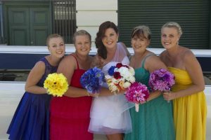 Brides and Bridesmaids in Fremantle Perth