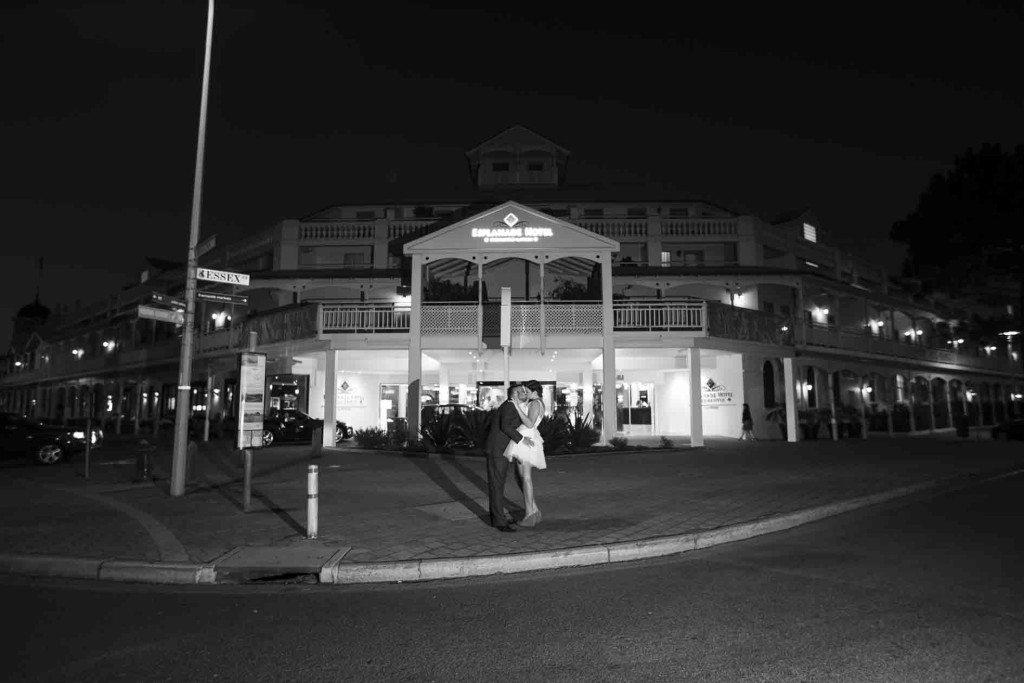 Esplanade Hotel Fremantle wedding venue for hire