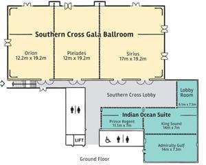 Esplanade Hotel Fremantle Venues Floor Plan